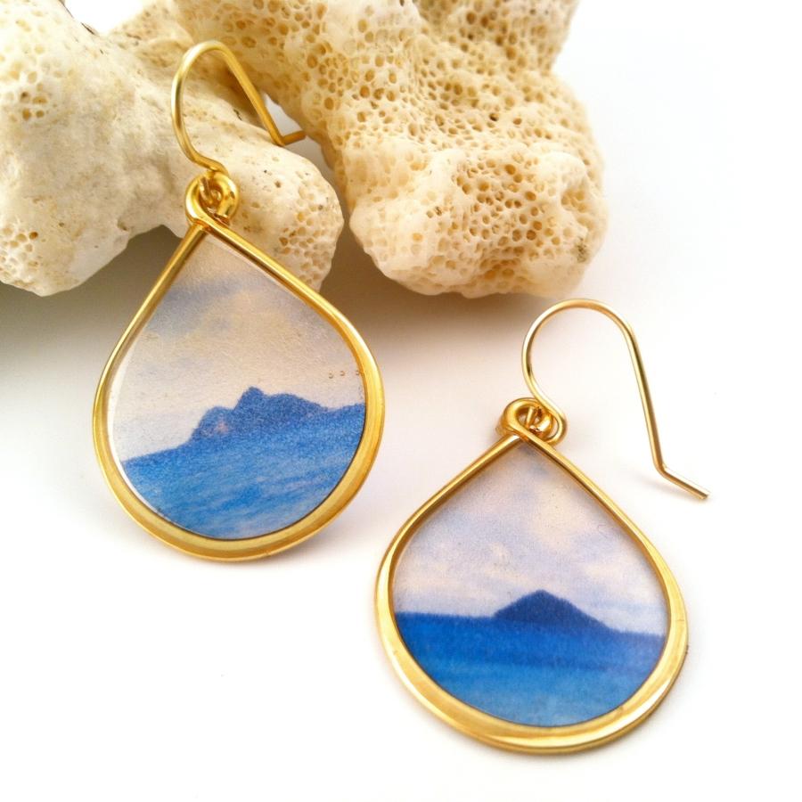 Na Mokulua Earrings Lane Tanner Jewelry Design