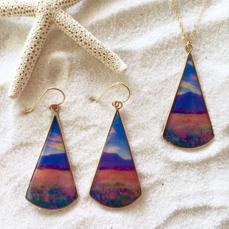 Haleakala collection, Lane Tanner Designs, Photo Jewelry