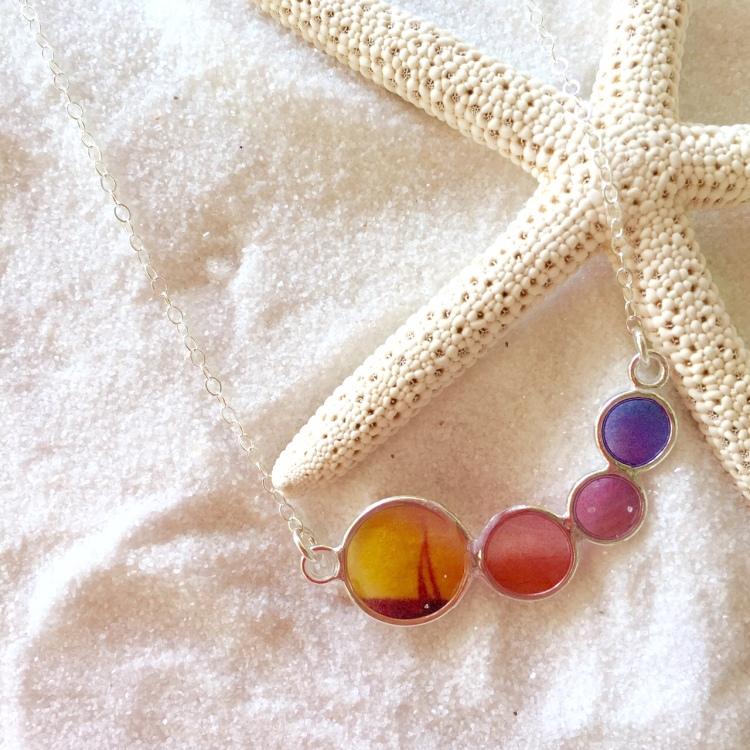 Tiny Bubbles, Photo Jewelry, Lane Tanner Designs