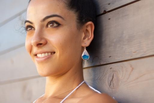 romper mokes earring detail